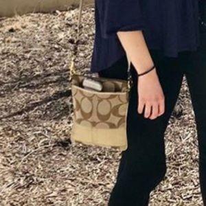 Gold Coach sling purse